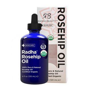 Radha Beauty Certified Organic Rosehip Oil 120ml
